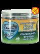 Gezonde Beloning vlees mini hartjes - Kip met Broccoli 100 gr