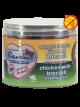 Gezonde Beloning vlees hartjes - Kip met Broccoli 100 gr