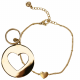 Renske Jewellery Goud - Armband + Bedel Medium