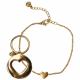 Renske Jewellery Goud - Armband + Bedel Small